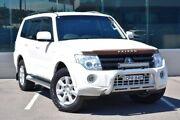 2013 Mitsubishi Pajero NW MY13 GLX-R White 5 Speed Sports Automatic Wagon Cardiff Lake Macquarie Area Preview