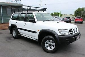 2004 Nissan Patrol GU III MY2003 ST White 4 Speed Automatic Wagon Wakerley Brisbane South East Preview
