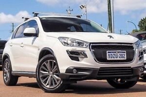 2012 Peugeot 4008 MY12 Allure 4WD White 6 Speed Constant Variable Wagon Willagee Melville Area Preview