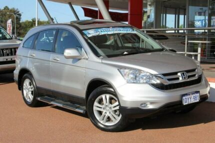 2012 Honda CR-V MY11 (4x4) Luxury Silver 5 Speed Automatic Wagon Myaree Melville Area Preview