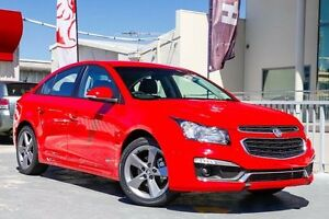 2016 Holden Cruze JH Series II MY16 SRI Z-Series Red Hot 6 Speed Sports Automatic Sedan West Perth Perth City Area Preview
