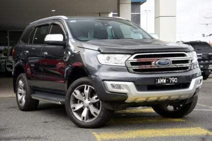 2017 Ford Everest UA Titanium 4WD Grey 6 Speed Sports Automatic Wagon