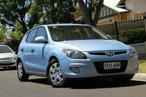2010 Hyundai i30 FD MY10 SX Blue 5 Speed Manual Hatchback Nailsworth Prospect Area Preview