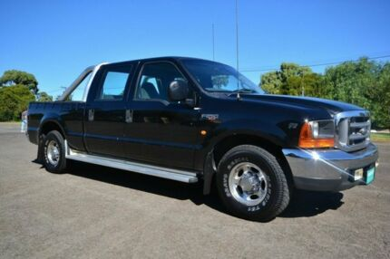2002 Ford F250 RM XLT Black 4 Speed Automatic Dual Cab Enfield Port Adelaide Area Preview