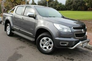 2013 Holden Colorado RG MY13 LTZ Crew Cab Grey 6 Speed Sports Automatic Utility Thebarton West Torrens Area Preview