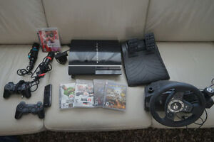 Playstation 3 PS3 with Games and Accesories