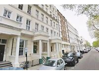 Double studio apartment in this period conversion property in Leinster Gardens, W2.