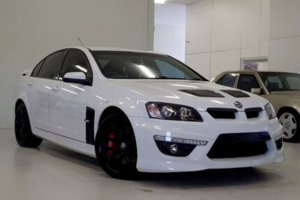 2013 Holden Special Vehicles Clubsport E Series 3 MY12.5 R8 White 6 Speed Sports Automatic Sedan