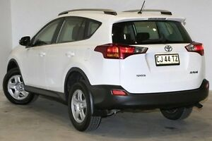 2013 Toyota RAV4 ZSA42R GX 2WD White 7 Speed Constant Variable Wagon Seven Hills Blacktown Area Preview