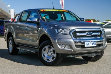 2016 Ford Ranger PX MkII XLT Double Cab Grey 6 Speed Manual Utility Cannington Canning Area Preview