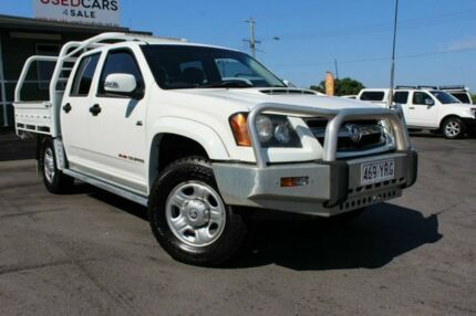 2010 Holden Colorado RC MY10.5 LX Crew Cab White 4 Speed Automatic Utility Tingalpa Brisbane South East Preview