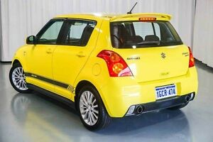 2008 Suzuki Swift RS416 Sport Champion Yellow 5 Speed Manual Hatchback Wangara Wanneroo Area Preview