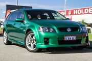2010 Holden Commodore VE MY10 SV6 Sportwagon Green 6 Speed Sports Automatic Wagon East Rockingham Rockingham Area Preview
