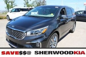 2019 Kia Sedona SXL+ NAPPA LEATHER, DUAL PANEL SUNROOF, SMART CR