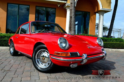 1965 Porsche 911  INCREDIBLE RESTORED EARLY 911 w/SEBRING HISTORY! Low Miles 2 dr Coupe Manual Gas