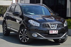 2013 Nissan Dualis J10W Series 4 MY13 Ti-L Hatch X-tronic 2WD Black 6 Speed Constant Variable Aspley Brisbane North East Preview