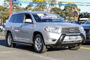 2008 Toyota Kluger GSU45R KX-R AWD Silver 5 Speed Sports Automatic Wagon Ringwood East Maroondah Area Preview