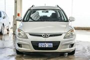 2009 Hyundai i30 FD MY09 SX 1.6 CRDi Silver 4 Speed Automatic Hatchback Cannington Canning Area Preview