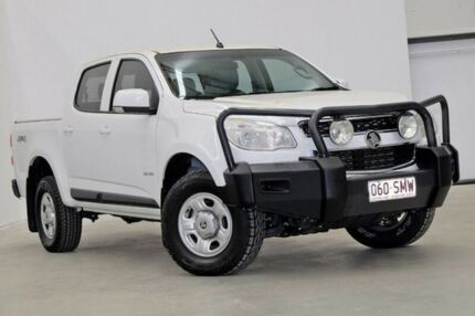 2012 Holden Colorado RG MY13 LX Crew Cab White 6 Speed Sports Automatic Utility