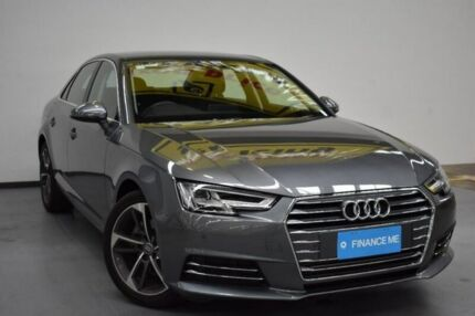 2016 Audi A4 B9 F4 MY16 Sport S tronic Grey Metallic 7 Speed Sports Automatic Dual Clutch Sedan