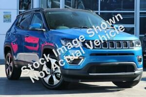 2018 Jeep Compass M6 MY18 Limited Blue 9 Speed Automatic Wagon Hallam Casey Area Preview