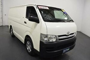 2010 Toyota Hiace TRH201R MY07 Upgrade LWB White Solid 4 Speed Automatic Van Moorabbin Kingston Area Preview