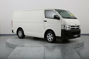 2012 Toyota Hiace KDH201R MY11 LWB White 4 Speed Automatic Van Old Guildford Fairfield Area Preview