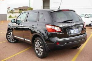 2013 Nissan Dualis J10W Series 3 MY12 Ti Hatch 2WD Black 6 Speed Manual Hatchback Westminster Stirling Area Preview