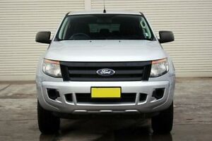 2013 Ford Ranger PX XL Double Cab Silver 6 Speed Manual Utility Seaford Frankston Area Preview