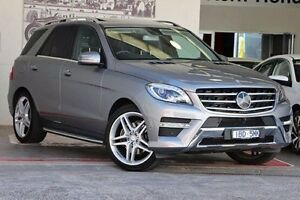 2014 Mercedes-Benz ML350 W166 BlueTEC 7G-Tronic + Silver 7 Speed Sports Automatic Wagon Doncaster Manningham Area Preview