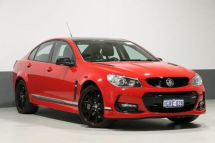 2017 Holden Commodore VF II MY17 SS-V Redline Motorsport EDT Red Hot 6 Speed Manual Sedan Bentley Canning Area Preview