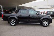 2012 Nissan Navara D40 S5 MY12 ST-X 550 Black 7 Speed Sports Automatic Utility Osborne Park Stirling Area Preview
