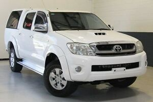 2010 Toyota Hilux KUN26R MY10 SR5 White 4 Speed Automatic Utility Hillcrest Port Adelaide Area Preview