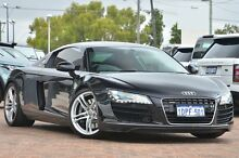 2008 Audi R8 Quattro Black 6 Speed Sports Automatic Single Clutch Coupe Osborne Park Stirling Area Preview