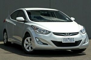 2014 Hyundai Elantra MD3 Active Silver 6 Speed Sports Automatic Sedan Cranbourne Casey Area Preview