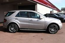 2008 Mercedes-Benz ML63 W164 MY09 AMG Silver 7 Speed Sports Automatic Wagon Northbridge Perth City Preview