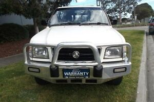 2000 Holden Jackaroo U8 SE LWB (4x4) White 4 Speed Automatic 4x4 Wagon Melbourne CBD Melbourne City Preview