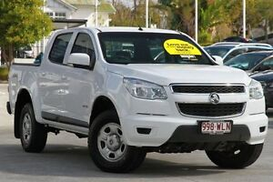 2013 Holden Colorado RG MY13 LX Crew Cab White 5 Speed Manual Cab Chassis Toowong Brisbane North West Preview