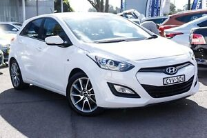 2014 Hyundai i30 GD2 SR White 6 Speed Manual Hatchback Kings Park Blacktown Area Preview