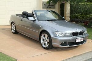 2005 BMW 330CI E46 MY2005 Steptronic Silver Grey 5 Speed Sports Automatic Convertible Bundall Gold Coast City Preview