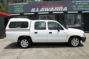 2001 Toyota Hilux RZN147R MY02 Workmate 4D UTILITY Barrack Heights Shellharbour Area Preview