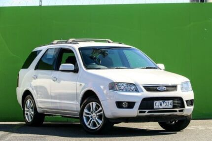 2009 Ford Territory SY TS White 4 Speed Sports Automatic Wagon Ringwood East Maroondah Area Preview