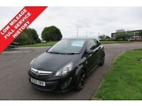 VAUXHALL CORSA 1.2 LIMITED EDITION,2014, 2 lady Owners,Low Mileage,Air Con,Cruise Control,F.S.H