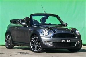 2010 Mini Cabrio R57 LCI Cooper S Chilli Steptronic Grey 6 Speed Sports Automatic Convertible Ringwood East Maroondah Area Preview