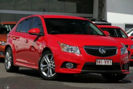 2014 Holden Cruze JH Series II MY14 SRi Z Series Red 6 Speed Manual Hatchback North Lakes Pine Rivers Area Preview