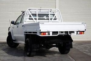 2012 Toyota Hilux KUN26R MY12 SR Double Cab White 4 Speed Automatic Utility Seaford Frankston Area Preview