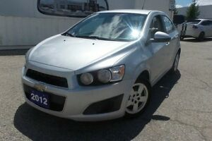 2012 Chevrolet Sonic LS, Local Trade In