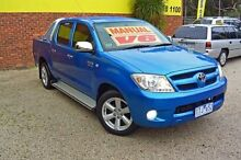2005 Toyota Hilux GGN15R MY05 SR5 Blue 5 Speed Manual 4D UTILITY Upper Ferntree Gully Knox Area Preview