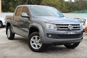 2015 Volkswagen Amarok 2H MY15 TDI400 4Mot Trendline Natural Grey 6 Speed Manual Utility Cardiff Lake Macquarie Area Preview