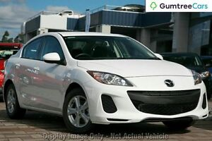 2012 Mazda 3 BL10F2 Neo White 6 Speed Manual Sedan Ringwood East Maroondah Area Preview